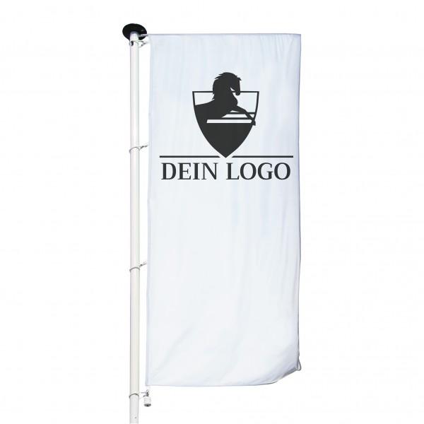 Fahne Hochformat für Ausleger 80x200