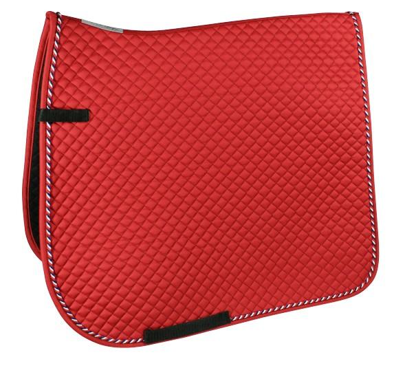 Schabracke ist in rot mit einer blau-rot-weiß Kordel dargestellt