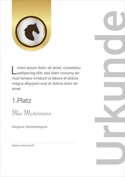 Urkunde Modern 3